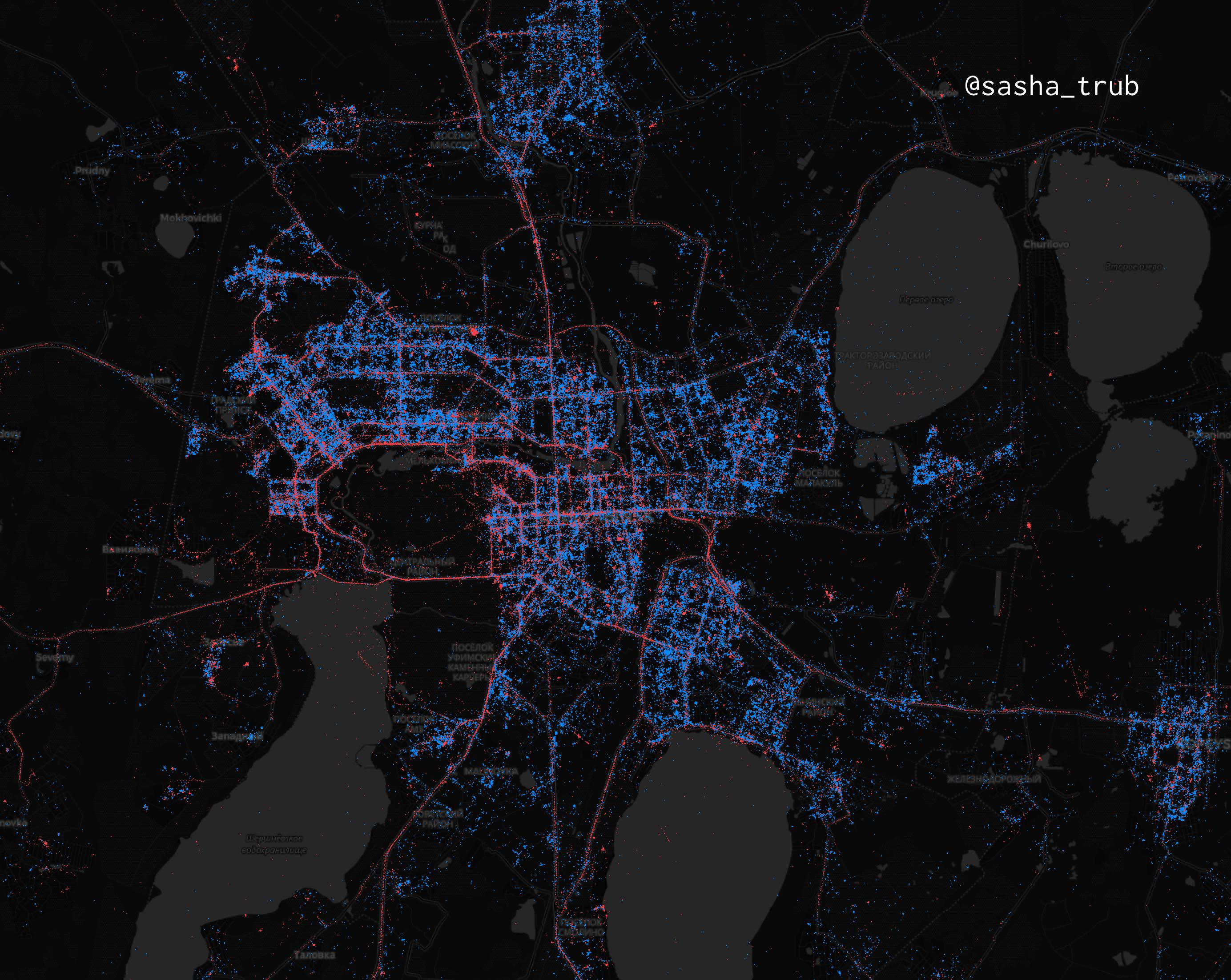 In Moscow - iPhones, in St. Petersburg - Android. What are the maps of Android and iOS users in Russia | Kanobu - Image 10