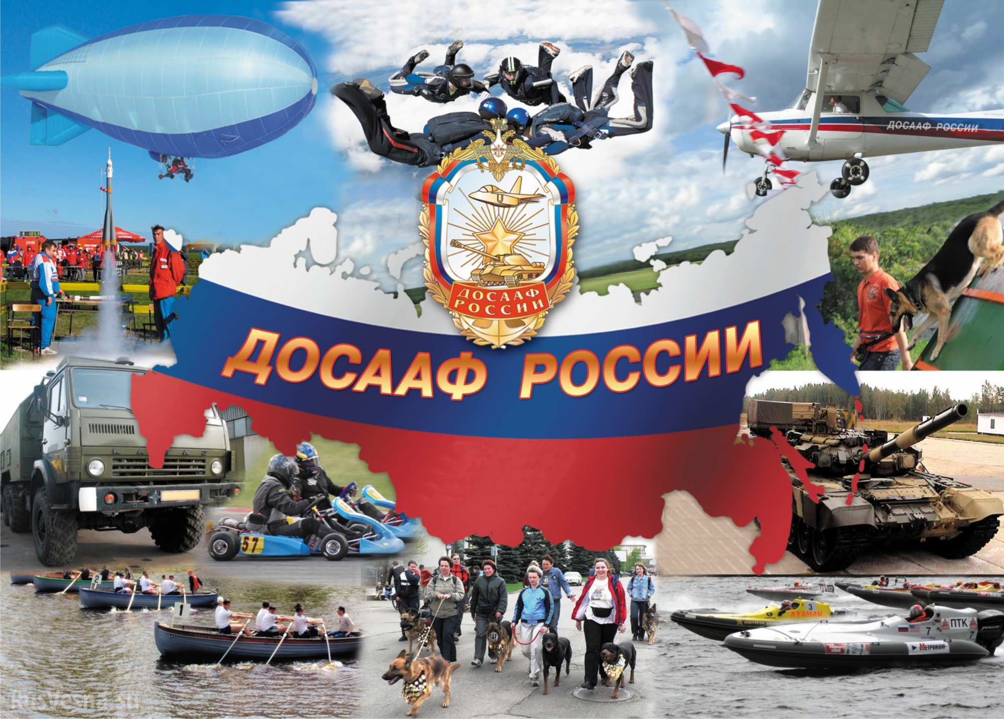 Эмблема досааф россии для вставки на картинку