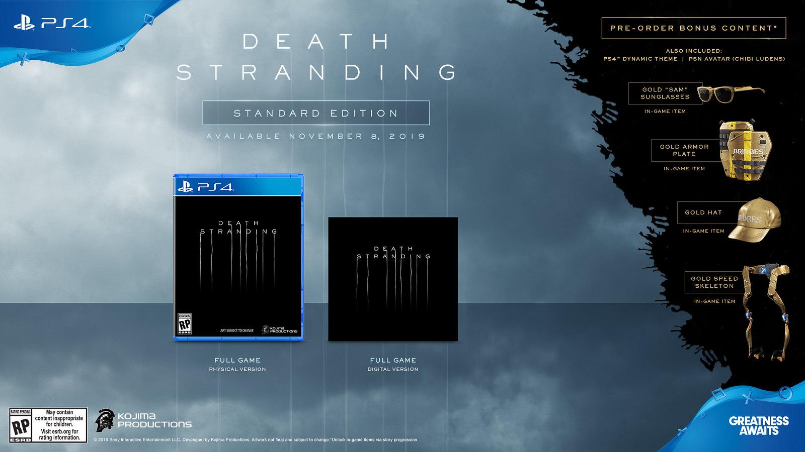 Death Stranding не задержится на PlayStation. Запланирован релиз на ПК