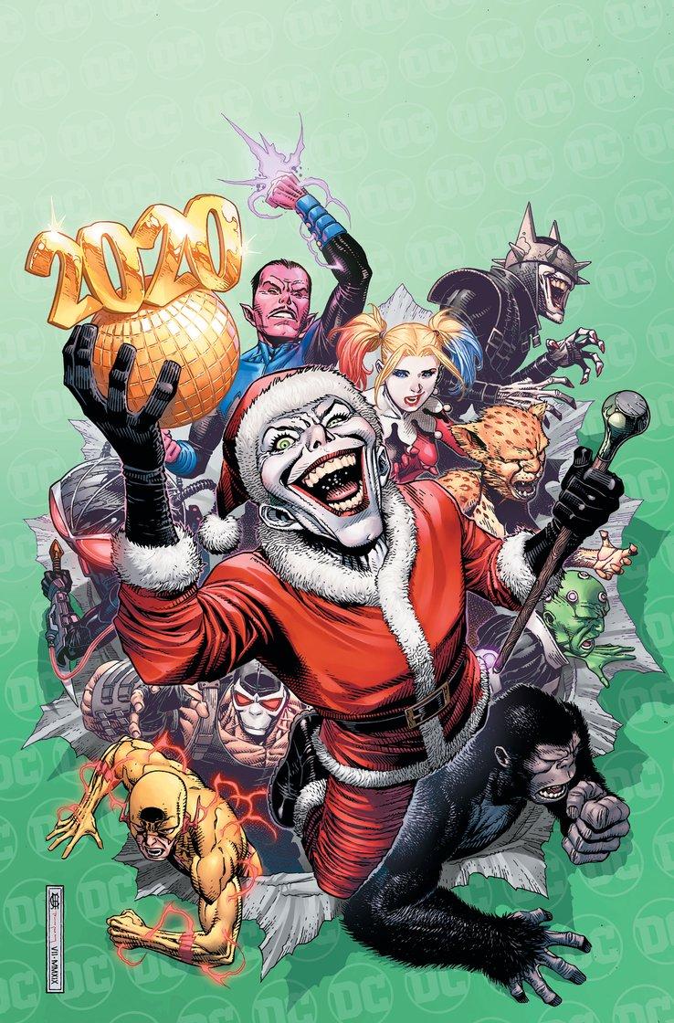 Джокер принесет немного новогоднего зла. Праздничную антологию DC посветят злодеям
