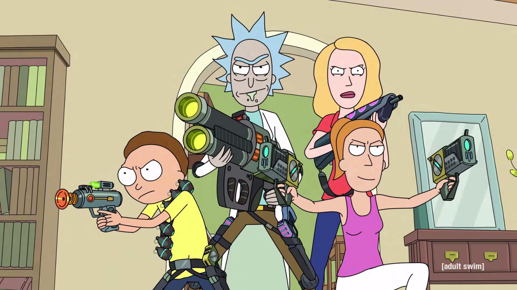 Обои очки, Smith, Morty Smith, Morty, Рик и Морти, Sanchez, rick, костюмы, Мультфильм, Rick and Morty, Rick Sanchez. Фильмы foto 13