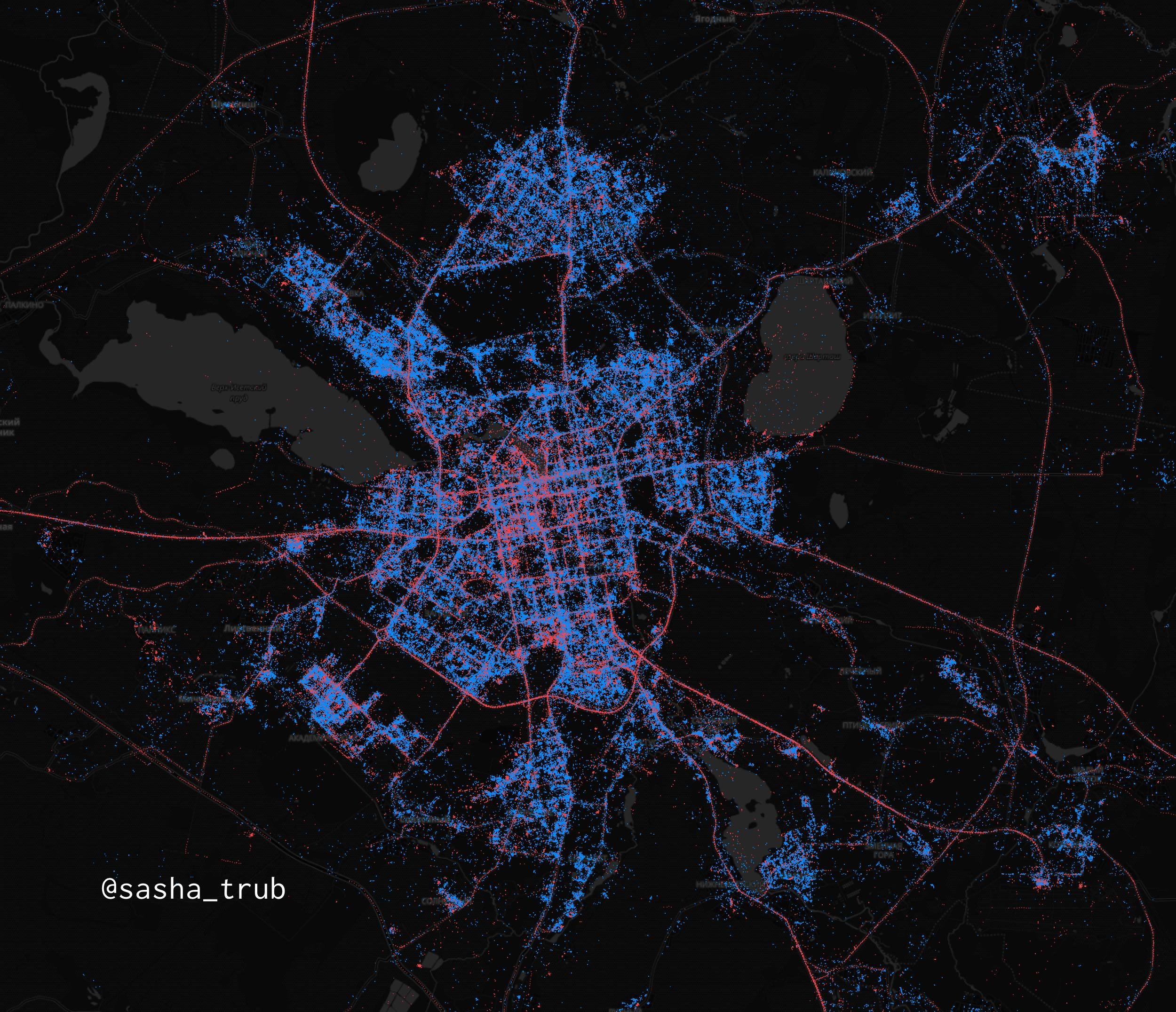 In Moscow - iPhones, in St. Petersburg - Android. What are the maps of Android and iOS users in Russia | Kanobu - Image 3