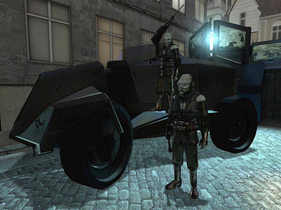 На что похож пикап Tesla Cybertruck? Вспомнили Half-Life, Dishonored и Cyberpunk 2077 | Канобу