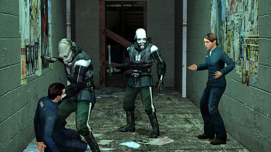Мод на двойные прыжки и бег по стенам превращает Half-Life 2 в Titanfall 2 | Канобу