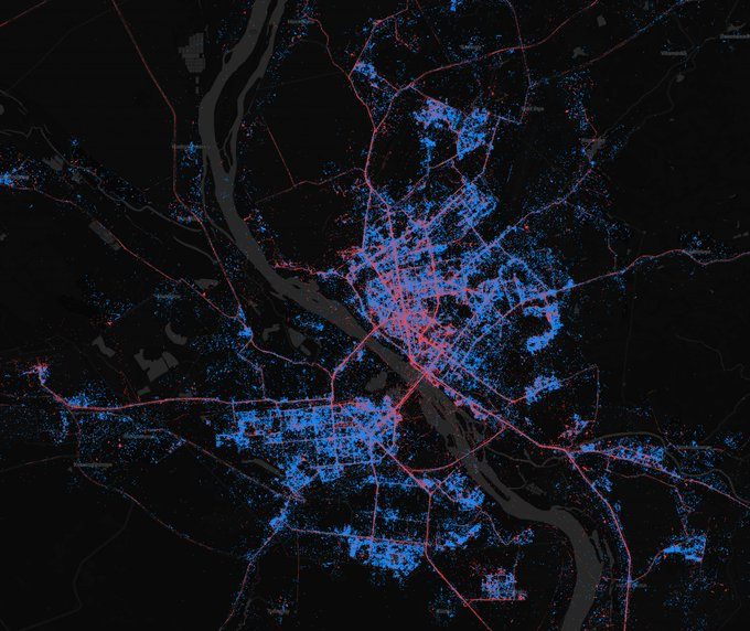 In Moscow - iPhones, in St. Petersburg - Android. What are the maps of Android and iOS users in Russia | Kanobu - Image 7