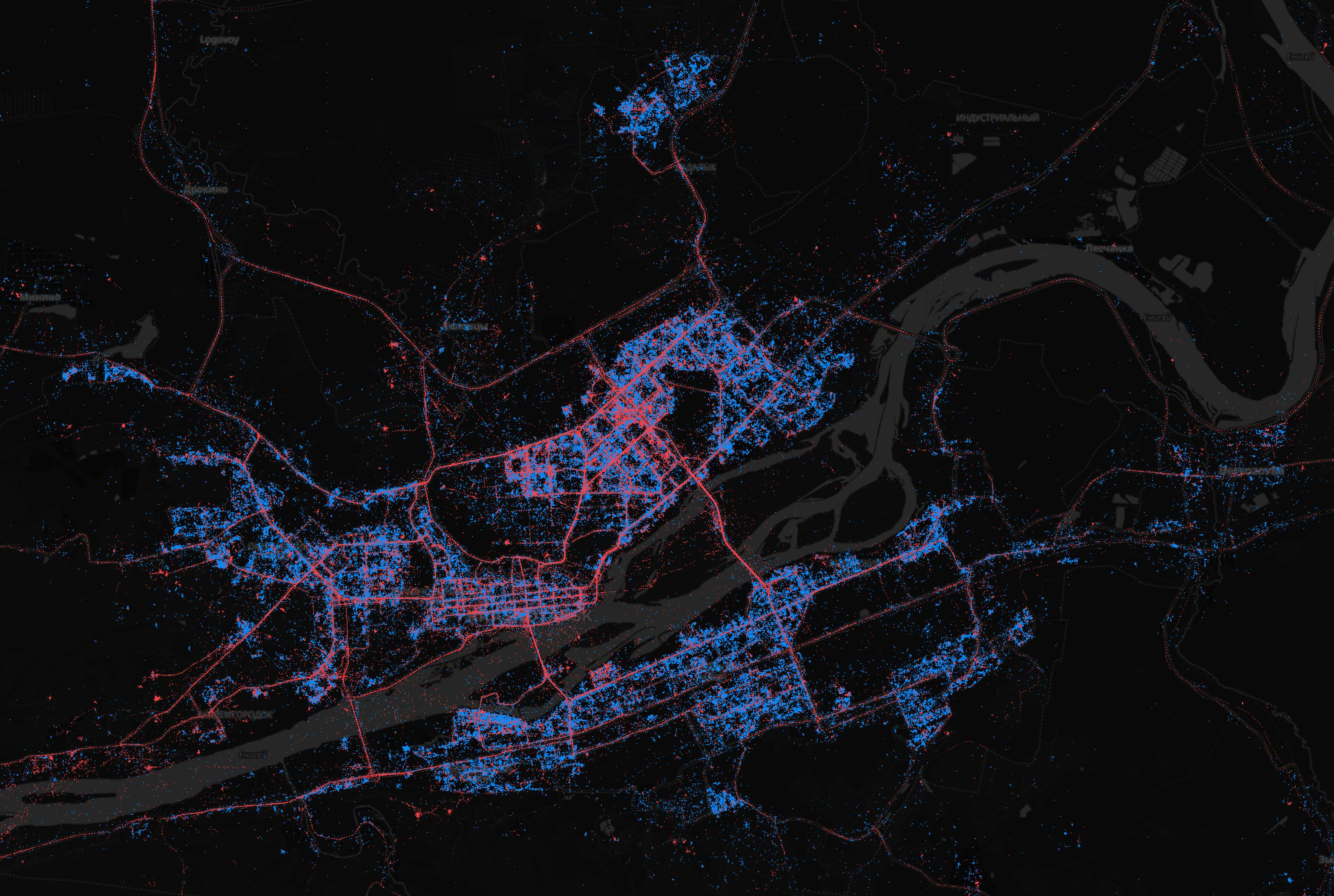 In Moscow - iPhones, in St. Petersburg - Android. What are the maps of Android and iOS users in Russia | Kanobu - Image 6