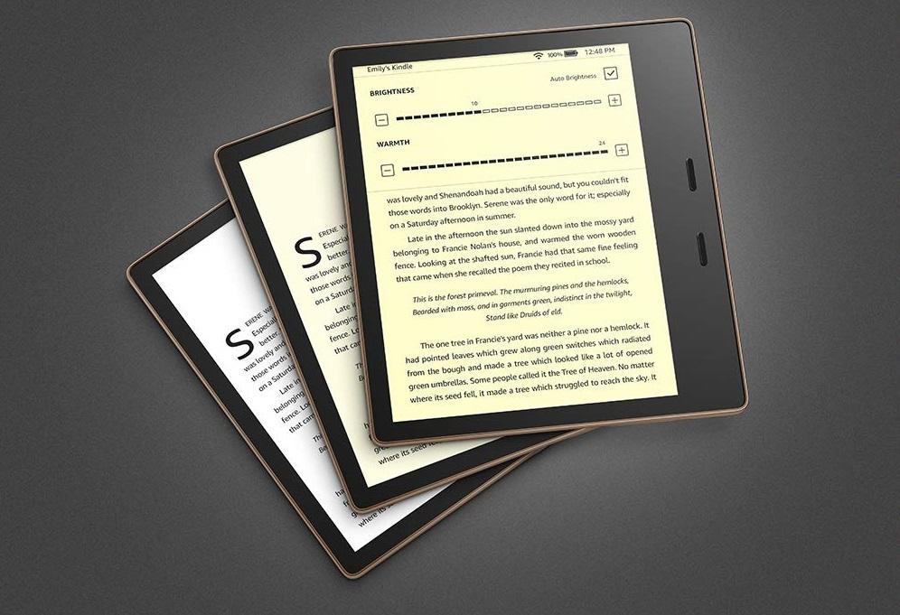Amazon Kindle Oasis: обновленная электронная книга стала легче и ...