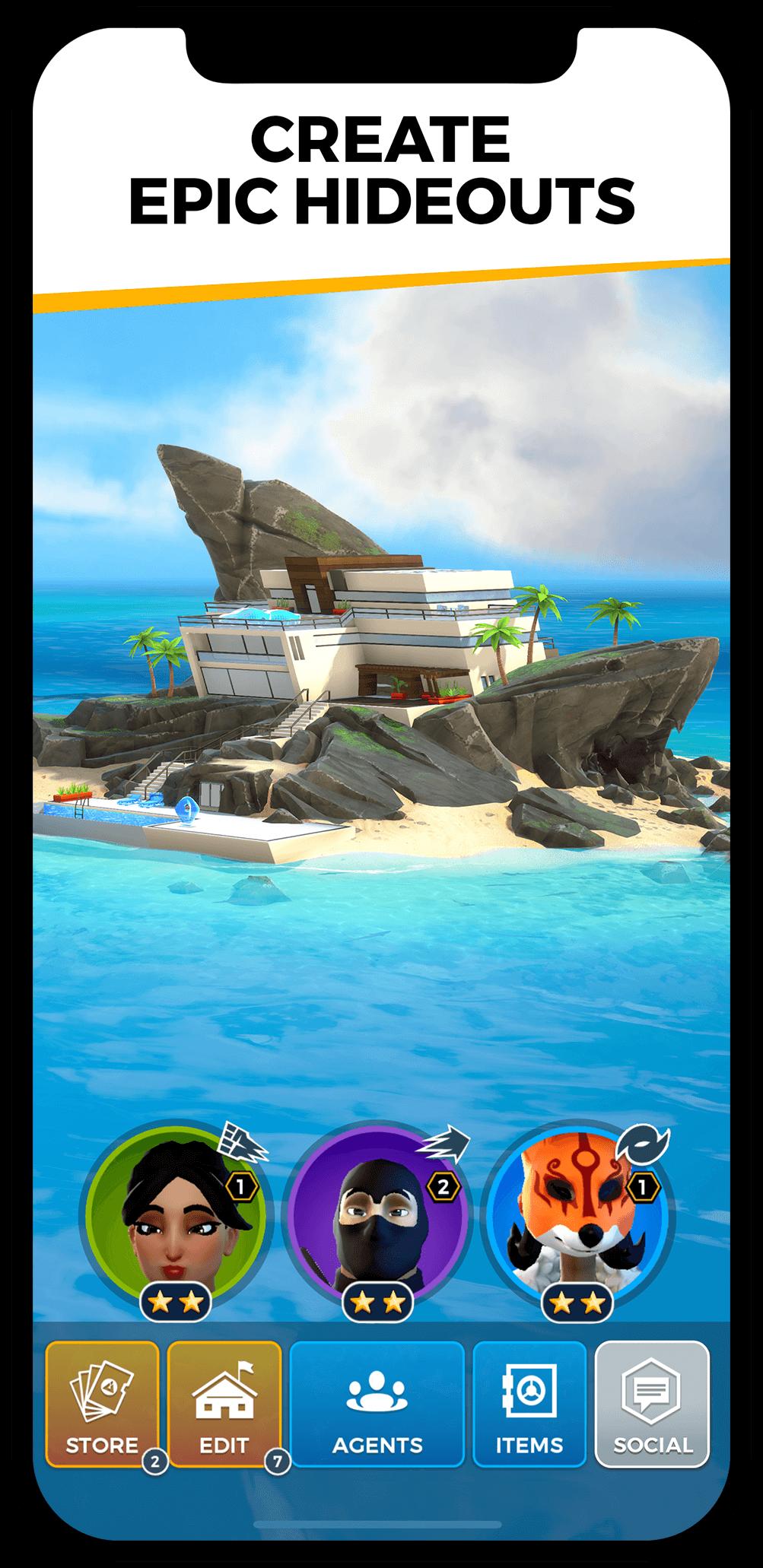 Spyjinx - игра про шпионов от Epic Games на мобильные