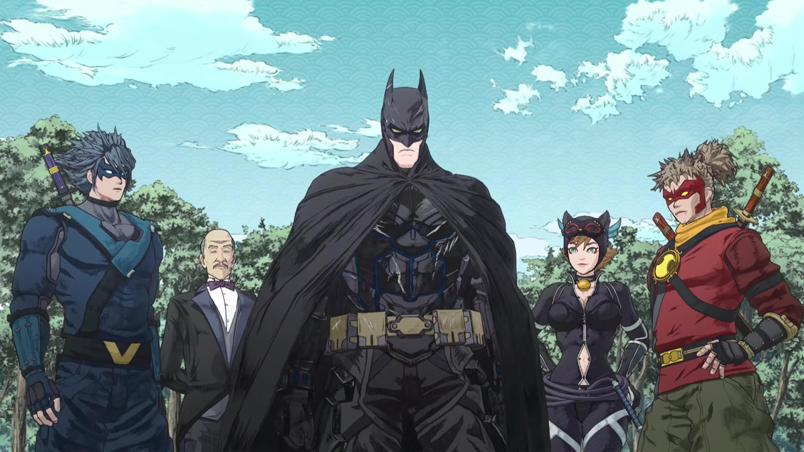 Рецензия на аниме Batman Ninja. Лучшее анимационное произведение о супергероях | Канобу