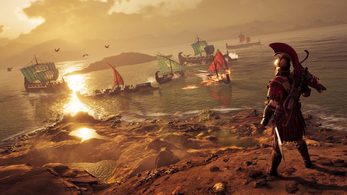 Создатели Assassin's Creed Odyssey добавили «королевскую битву» в игру, но без мультиплеера