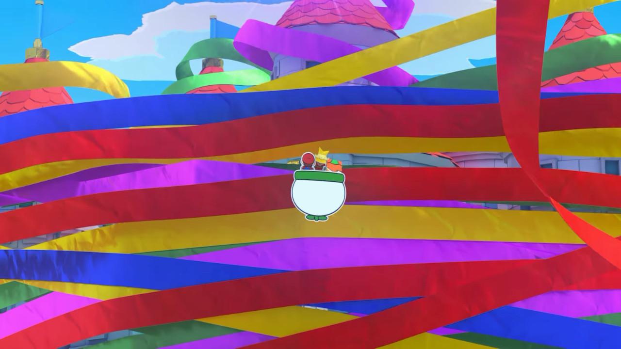 Новая часть RPG про бумажную версию самого знаменитого сантехника, Paper Mario: The Origami King— это игра, которая никогда незабывает, что она— игра. Без сложной истории или фотореалистичной графики ничего неотвлекает отгеймплея— исследования исражений, лишь изредка мысмотрим забавные диалоги или крохотные кат-сцены, которые иначе как скетчами называть нехочется.