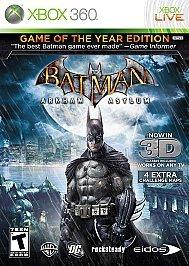 Batman: Arkham Asylum: Game of the Year Edition