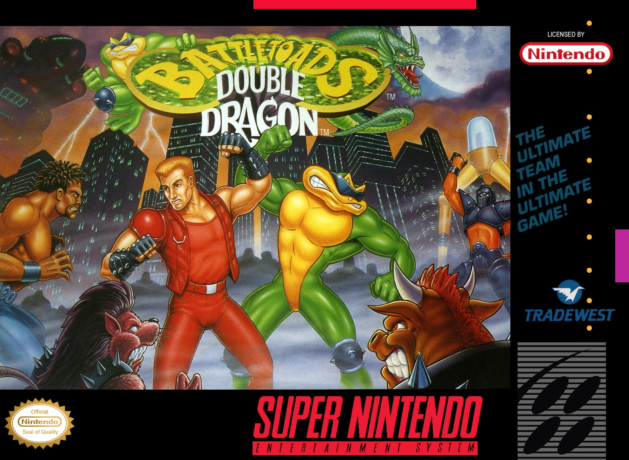 Battletoads & Double Dragon