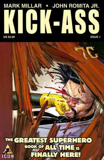 """Все 8 выпусков комикса Марка Миллара """"Kick-ass"""" на русском языке   (перевод сайта ruscomics.moy.su)depositfiles.com/ .... - Изображение 1"""