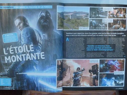 """Во франкоязычном журнале """"Console +"""" опубликован материал о второй части  игры Сила необузданная. Среди прочего, htt .... - Изображение 1"""