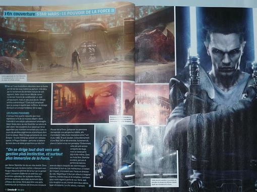 """Во франкоязычном журнале """"Console +"""" опубликован материал о второй части  игры Сила необузданная. Среди прочего, htt .... - Изображение 2"""