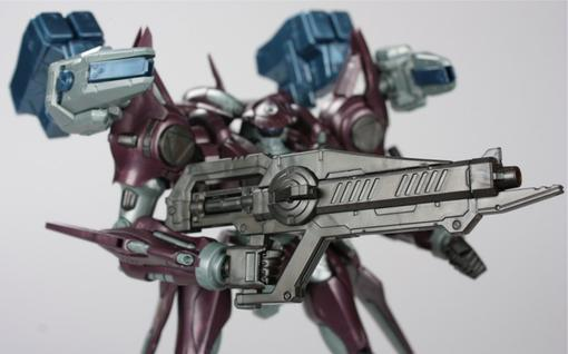Обзор фигурки боевого робота из серии Armored Core, воплощенной в пластике благодаря японской компании Kotobukiya.   .... - Изображение 2