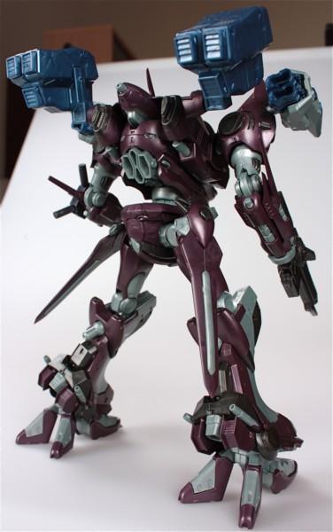 Обзор фигурки боевого робота из серии Armored Core, воплощенной в пластике благодаря японской компании Kotobukiya.   .... - Изображение 1
