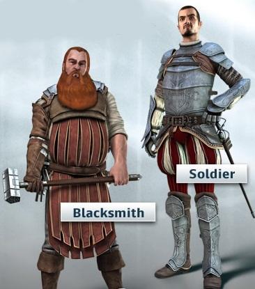 Ubisoft раскрыла двух новых персонажей в игре Assassins Creed: Brotherhood. Ими оказались кузнец и солдат.  Оба перс .... - Изображение 1