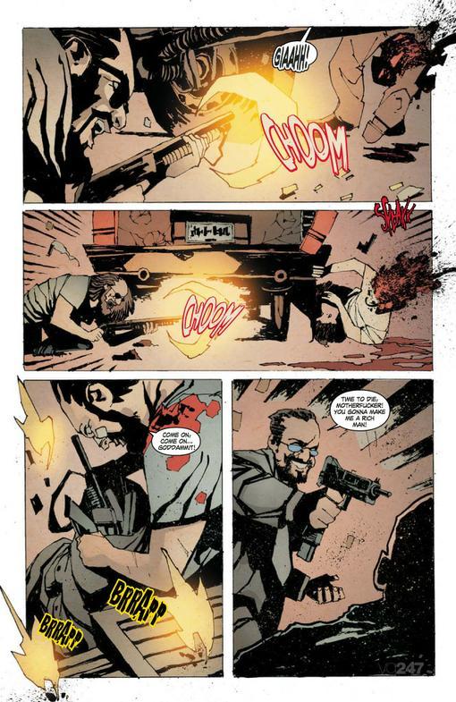Компания IO Interactive показала окончательное оформление обложки и пару страниц из их нового комикса по игре Kane & .... - Изображение 2