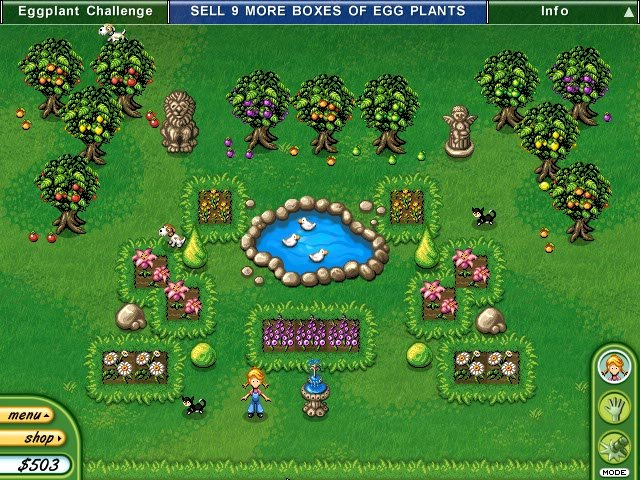 Alice Greenfingers 2 - Free Downloadable Games and Free