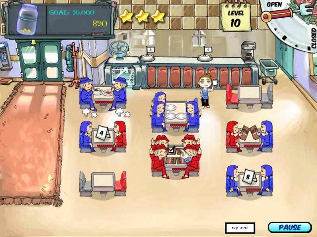 Diner Dash Скачать Игру - фото 5