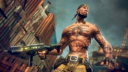 На одном из новых скриншотов игры Brinkс выставки GamesCom 2010.Собственно я нашол очень любопытный скриншот,так вот .... - Изображение 1