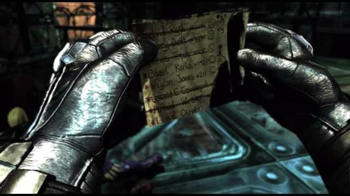 Наверняка все кто играл в BATMAN AA помнят момент когда бэтмен сажает в камеру Харли Квин, но перед этим изъял у неё .... - Изображение 1