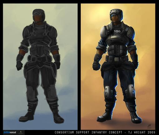 Совсем недавно я наткнулся на новость о будущем релизе одной очень интересной игры - Nuclear Dawn. Сама игра сделана .... - Изображение 3