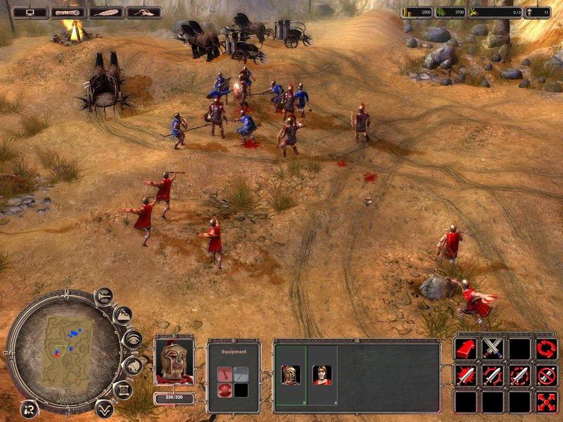 Войны древности спарта играть