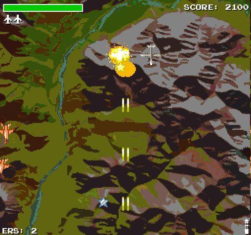 Оно существует и даже играбельно - демейк свежевыдешей H.A.W.X. 2 в восьмибитном стиле. Сразу видно что создатели вд .... - Изображение 3