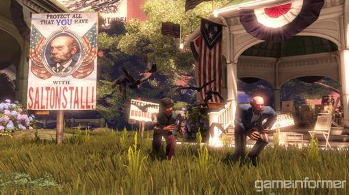 GameInformer опубликовали эксклюзивные скриншоты игры BioShock: Infinite. Релиз игры намечен на 2012 год для консоле .... - Изображение 1