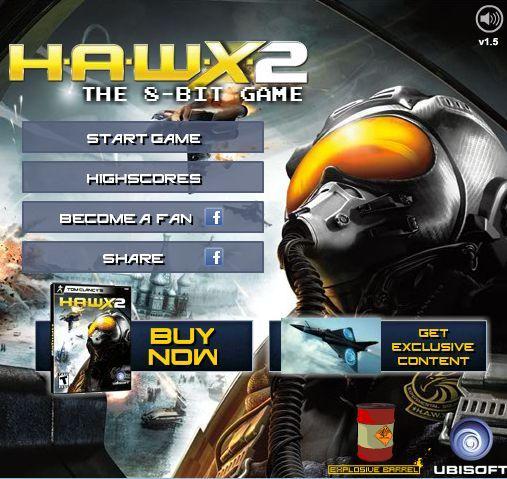 Оно существует и даже играбельно - демейк свежевыдешей H.A.W.X. 2 в восьмибитном стиле. Сразу видно что создатели вд .... - Изображение 1