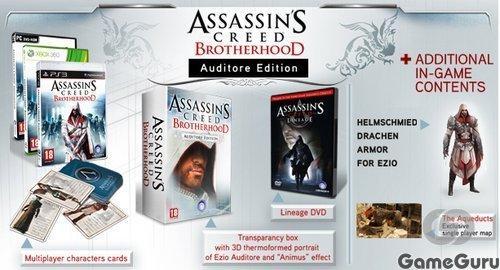 Ubisoft анонсировала очередное специальное издание экшена Assassin's Creed: Brotherhood, выход которого намечен на н .... - Изображение 1