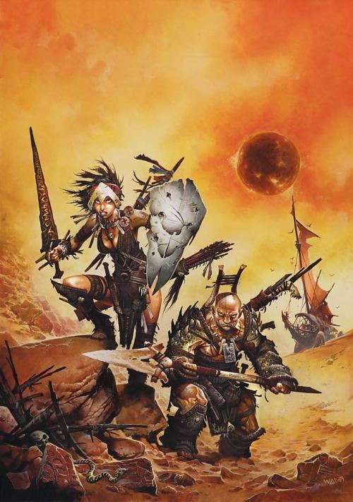 В прошлый раз мы поговорили о книгах по вселенной Dragonlance, и, прежде чем перейти к самому популярному D&D-се .... - Изображение 1