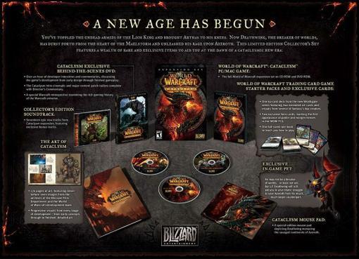 Blizzard анонсировала коллекционное издание аддона World of Warcraft: Cataclysm, которое будет выпущено ограниченным .... - Изображение 2