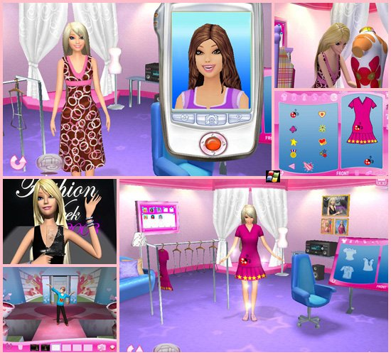 Barbie fashion show an eye for style Fashion style games online