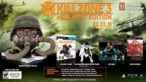 Сегодня была анонсирована специальная версия Killzone 3 - Helgast Edition, которая понравится особо ярым фанатам сер .... - Изображение 1