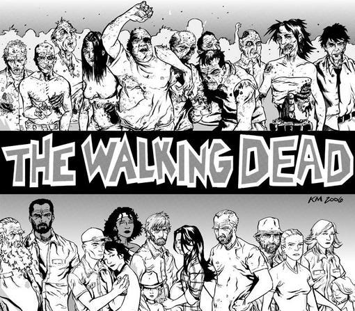 Walking dead // Ходячие мертвецы  Последние дни унылых будней  Работающий на последних батарейках приемник передает  .... - Изображение 3