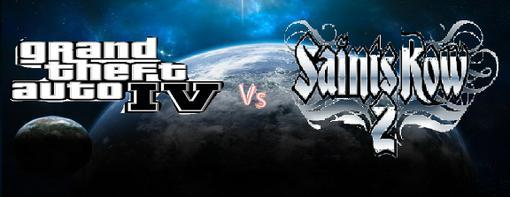 Здравствуйте! Как вы уже поняли, я хочу сравнить две игры: grand theft auto IV  и Saints Row 2, с одной стороны очен .... - Изображение 1