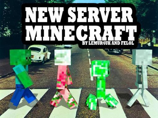 Открылся сервер по игре MineCraft.  Работа сервера 10/7 О_О. По 10 часов в день. Мобы отключены. Здоровье регенится. .... - Изображение 1