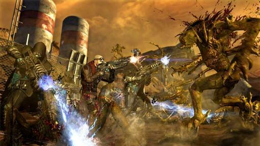 Место действия Red Faction: Armageddon – старичок Марс.А вот мутантов кормим свинцом,спустя полвека со времен событи .... - Изображение 3