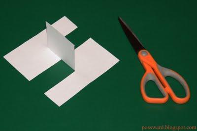 Бумажная головоломкаПредлагаю разобраться со следующей головоломкой, которой можно на некоторое время увлечь своего  .... - Изображение 2
