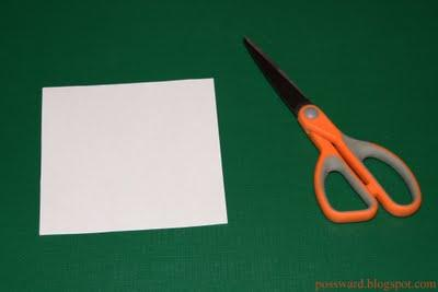Бумажная головоломкаПредлагаю разобраться со следующей головоломкой, которой можно на некоторое время увлечь своего  .... - Изображение 1