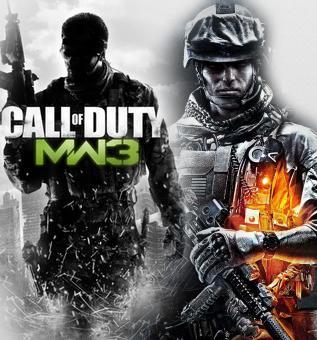 Хай канобувчане!)Сегодня я расскажу вам свое мнение о играх Call of Duty: Modern Warfare 3 и Battlefield 3.Начнем с  .... - Изображение 1