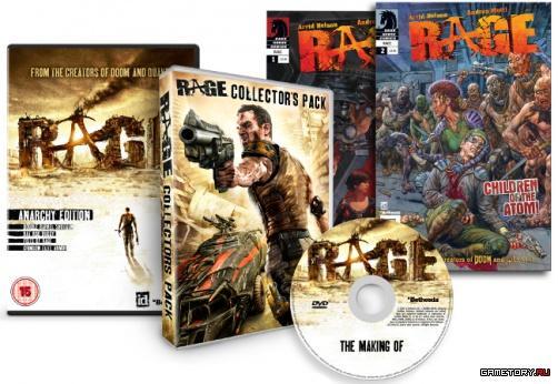 """Сегодня Bethesda анонсировали коллекционное издание RAGE. Издание носит название """"Anarchy Edition"""" и включает в себя .... - Изображение 1"""