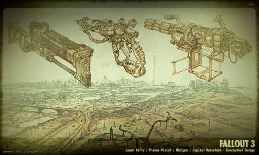 Fallout 3 очень крутая игра мне она нравится много крутого оружия например лазерная пушка  особенно на ПК вней очень .... - Изображение 2