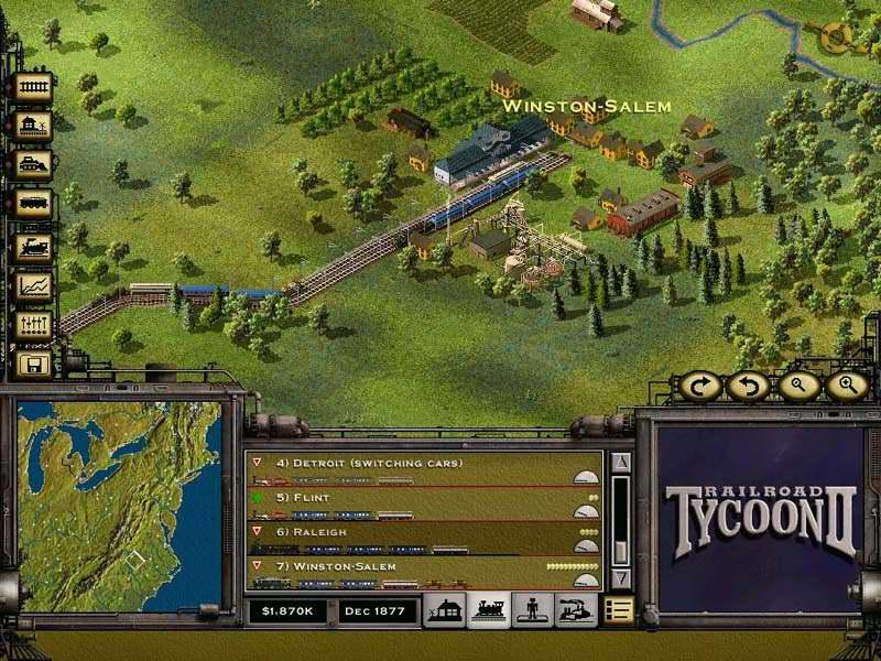 Railroad Tycoon 2 – обзоры и оценки, описание, даты выхода DLC