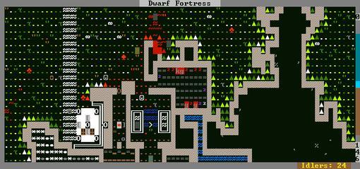 Dwarf Fortess - Компьютерная игра, сочетающая в себе рогалик и симулятор бога...  Единственный минус - двухмерная гр .... - Изображение 1