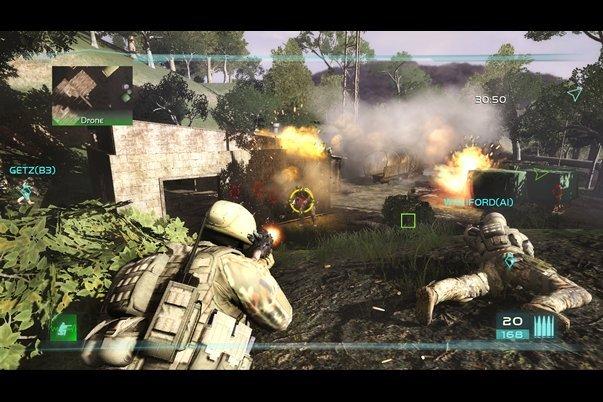 скачать игру Tom Clancy S Ghost Recon Advanced Warfighter 2 - фото 7